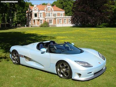 New Super Fast Car 2005 Koenigsegg CCR
