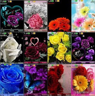 Flowers Sony Ericsson Mobile Themes