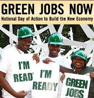 Green Jobs Now posters