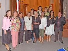 Grupo Taller de Poesía de la Universidad de Talca. Año 2006.
