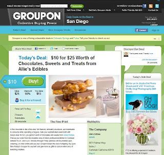 Groupon Screenshot