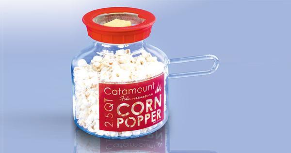 Micro corn popper (popcorn)