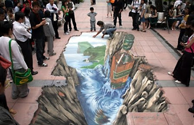 Cool 3D Graffiti Art
