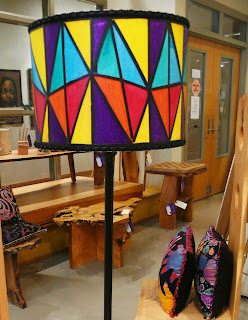 Painted Lampshade by Kinasha Willis