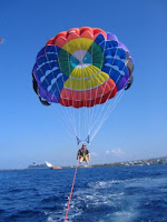 Parasailing, watersport