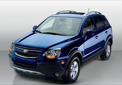 Nueva Chevrolet Captiva 2010