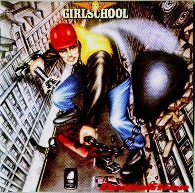 Girlschool : des années '80 aux remasters GIRLSCHOOL+-+DEMOLITION+(1980)