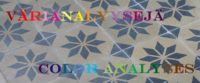 Värianalyysejä - Color analyses