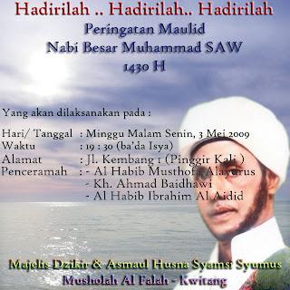 Wasiat Nabi Muhammad SAW Kepada Saidina Ali Bin Abi Tholib