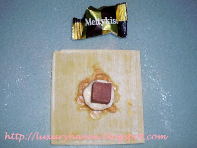 melty kiss chocolates, banana recipe, dessert