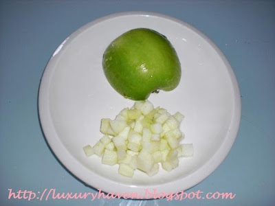 how to make green apple caviar appetizer