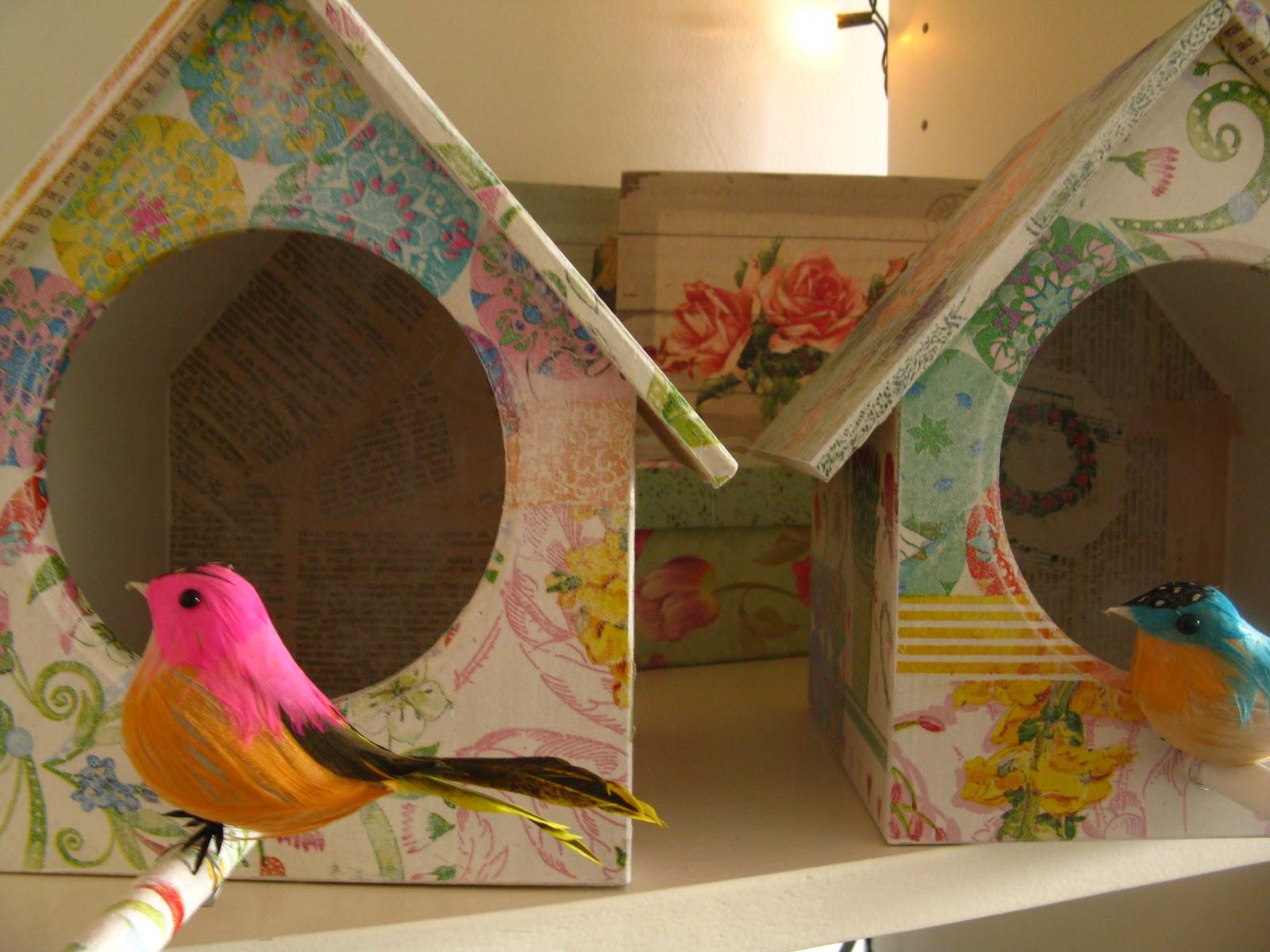 Tienda la florinda m s casitas de pajaritos - Casitas pequenas de madera ...