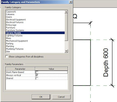 how to change colour of family type in revit