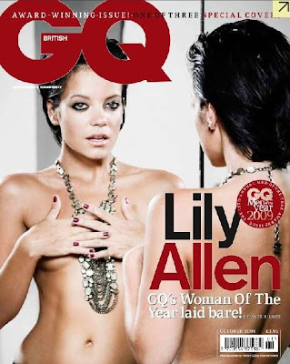 lilyGCcover Lily Allen On Cover Of GQ UK