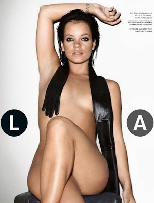 neovfnp0q Lily Allen On Cover Of GQ UK