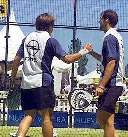 Juan Martín Diaz y Fernando Belasteguín
