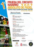 Torneto Pablo Semprún Sport Center del Circuito Navarro de Pádel