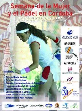 Campeonato La Mujer y el Pádel Córdoba 2007