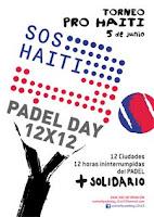 SOS Torneo Benefico de Pádel por Haití