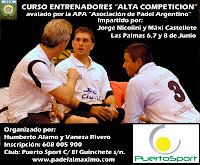 Curso Para Entrenadores Alta Competición en Las Palmas, Gran Canaria