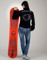 Tabla de snow board de la marca de padel vision