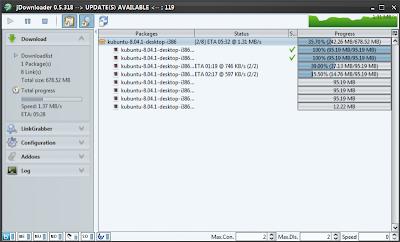 Nuevo JDownlaoder para descargas en Megaupload, RapidShare, MediaFire