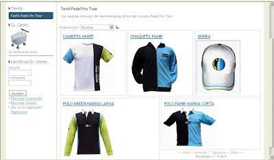 Merchandising  Padel Pro Tour