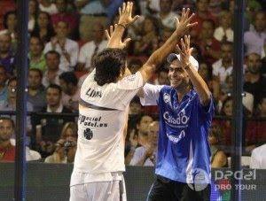 Ganadores internacional pádel Sevilla 2010