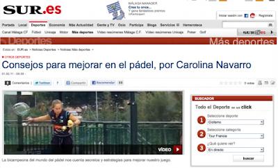 Mejora tu padel Carolina Navarro