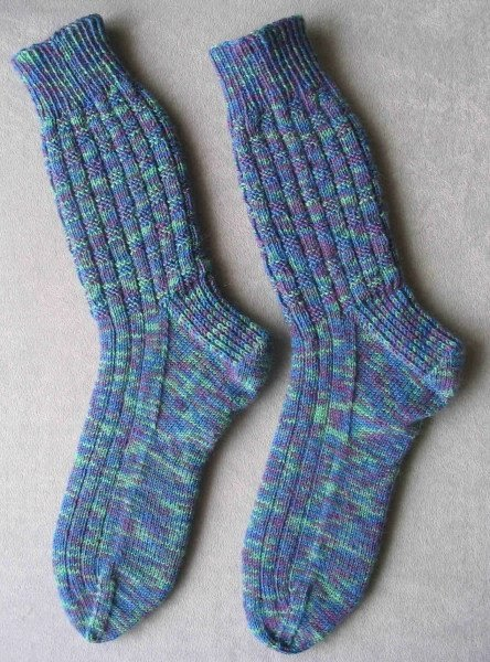 Knitting Stitches That Donot Curl : Stitches of Violet: Knitting Socks That Dont Bag