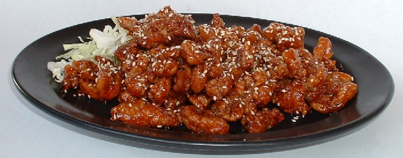 Miss Moon's Musings: Yummm! Shredded Sesame Chicken