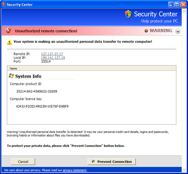 AntiVirus System 2011 removal instructions (in Safe Mode with
