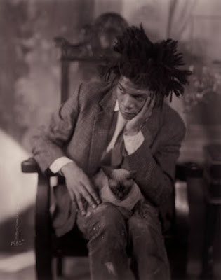 Artist Jean-Michel Basquiat photographed by James Van Der Zee, a Black History Month salute by Etsy Artists of Color
