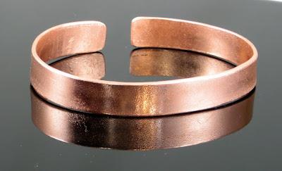 mens/unisex solid copper bracelet by Gahooletree