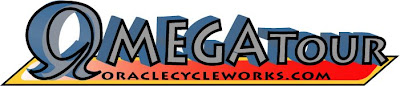 Oracle Omega Tour bicycle sticker