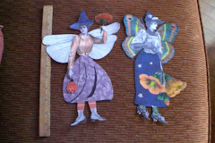 Halloween Garden Fairies