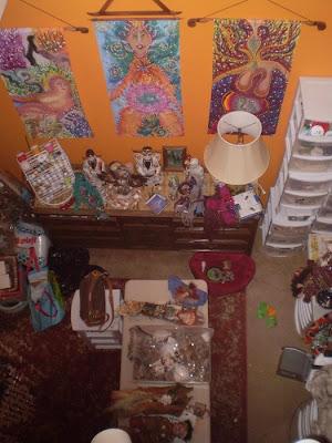 camilla la mer, art dolls, spirit dolls, shaman dolls, healing art, process painting, jungian art
