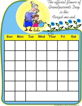 free calendars. I have three free calendars at Holiday Printable which have Grandparent#39;s