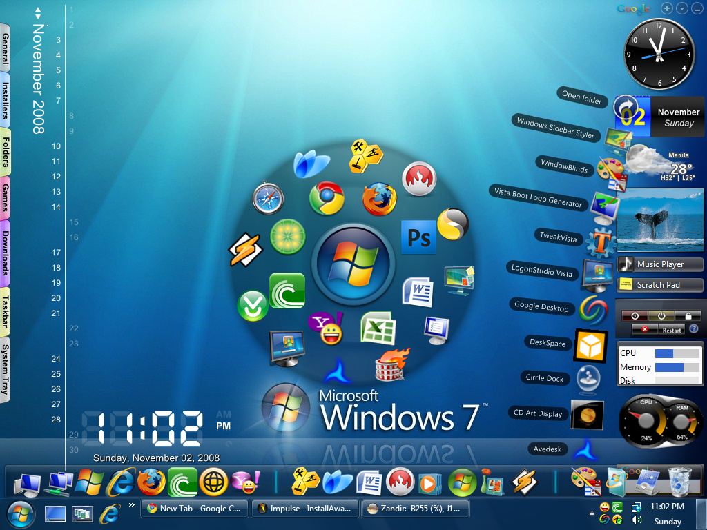 Clean Up Your Desktop In Windows 7 - bench3