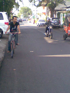 With Red Bicycle