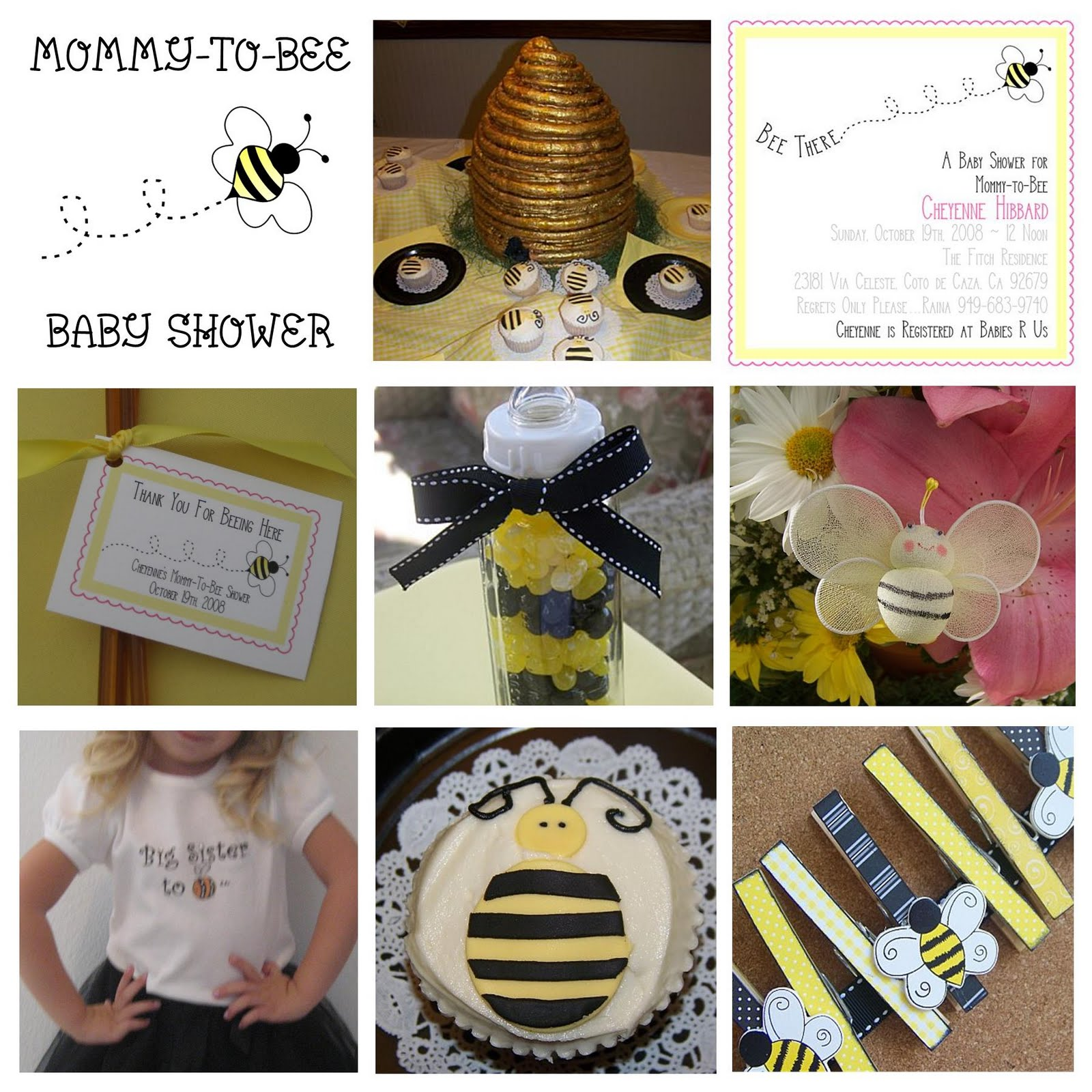 179 best Bee theme baby shower images on Pinterest