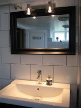 Badrummet i källaren