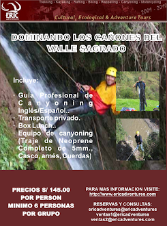 CANYONING IN PISAQ /  1 DIA