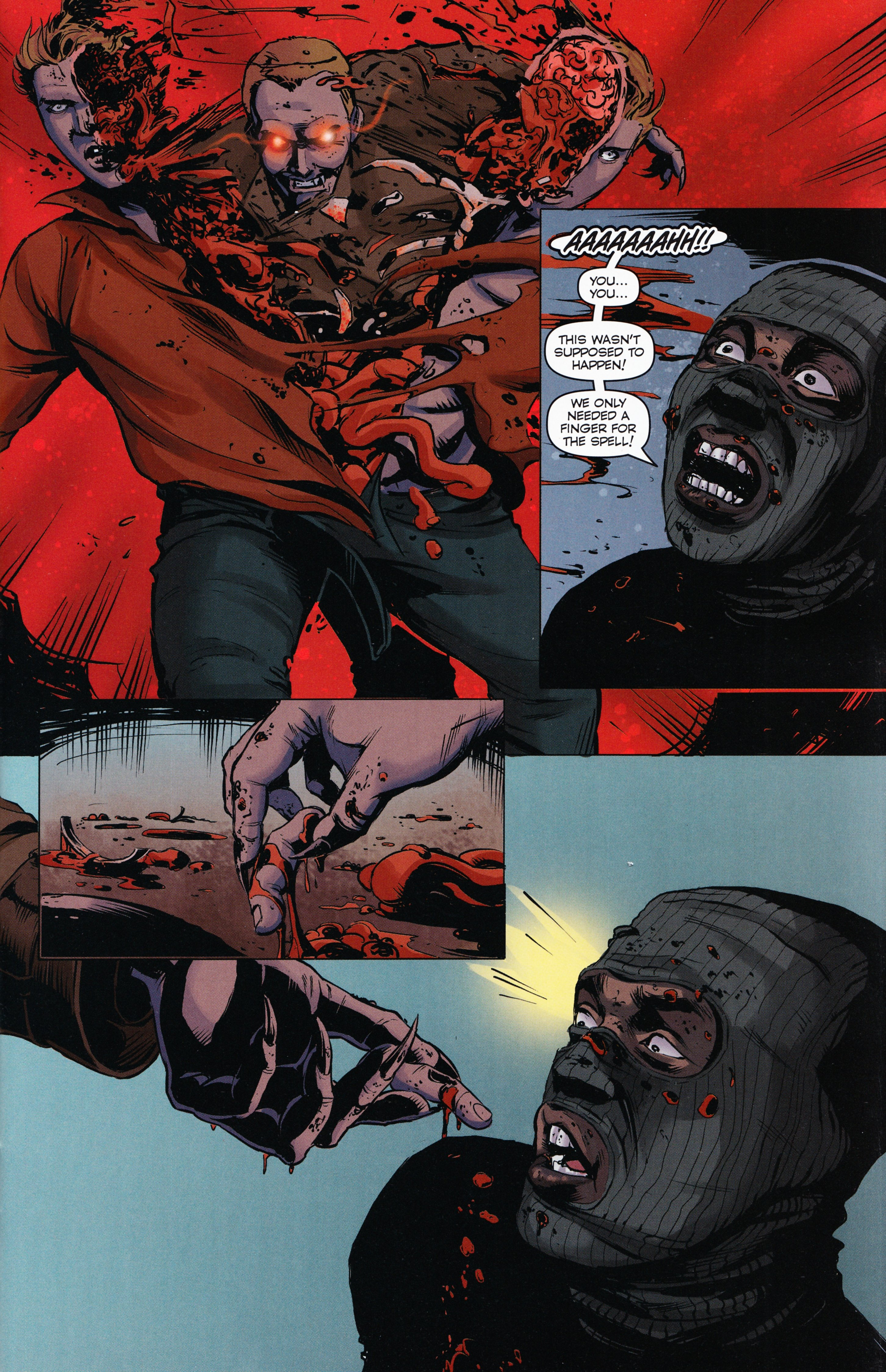 Read online Evil Dead 2: Tales of the Ex-Mortis comic -  Issue #3 - 7