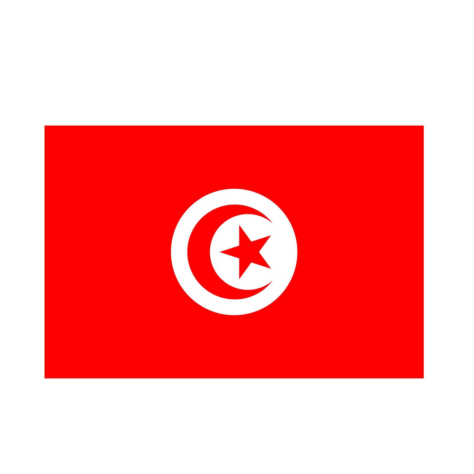 dessiner le drapeau tunisien