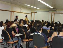 Grupo do IFRN assistindo o jogo do Brasil