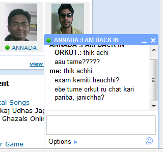 Gtalk Chat inside Orkut - image