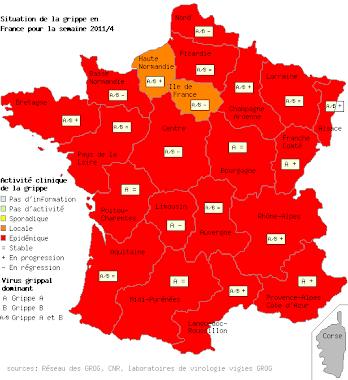 Une France totalement grippée