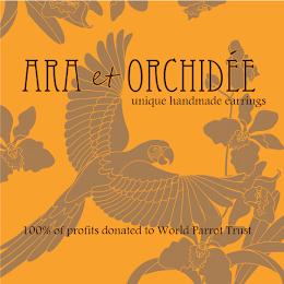 Ara et Orchidee