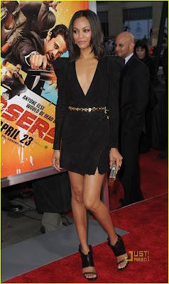Zoe Saldana Hot Photo